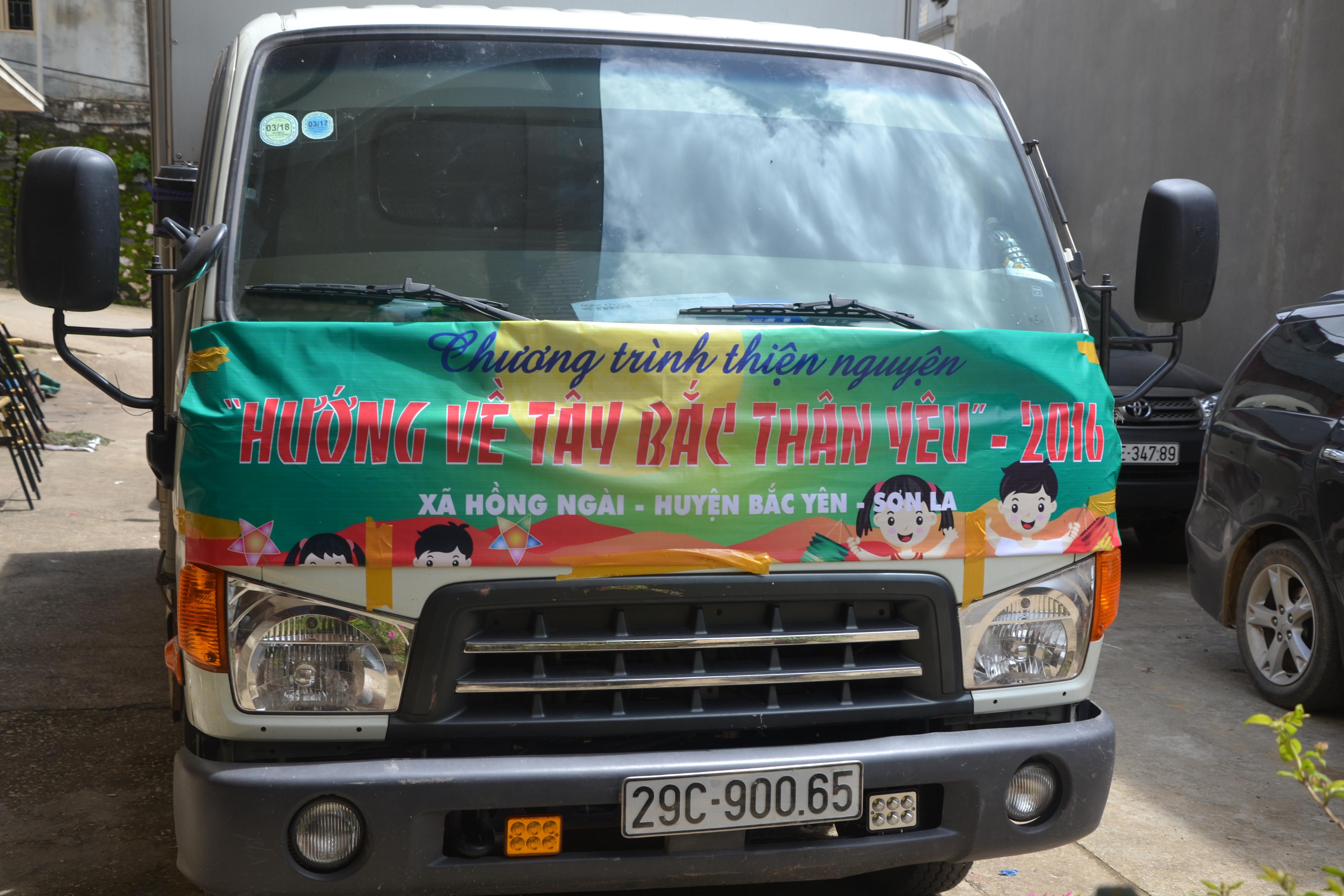 Trung thu tại huyện Bắc Yên - Sơn La